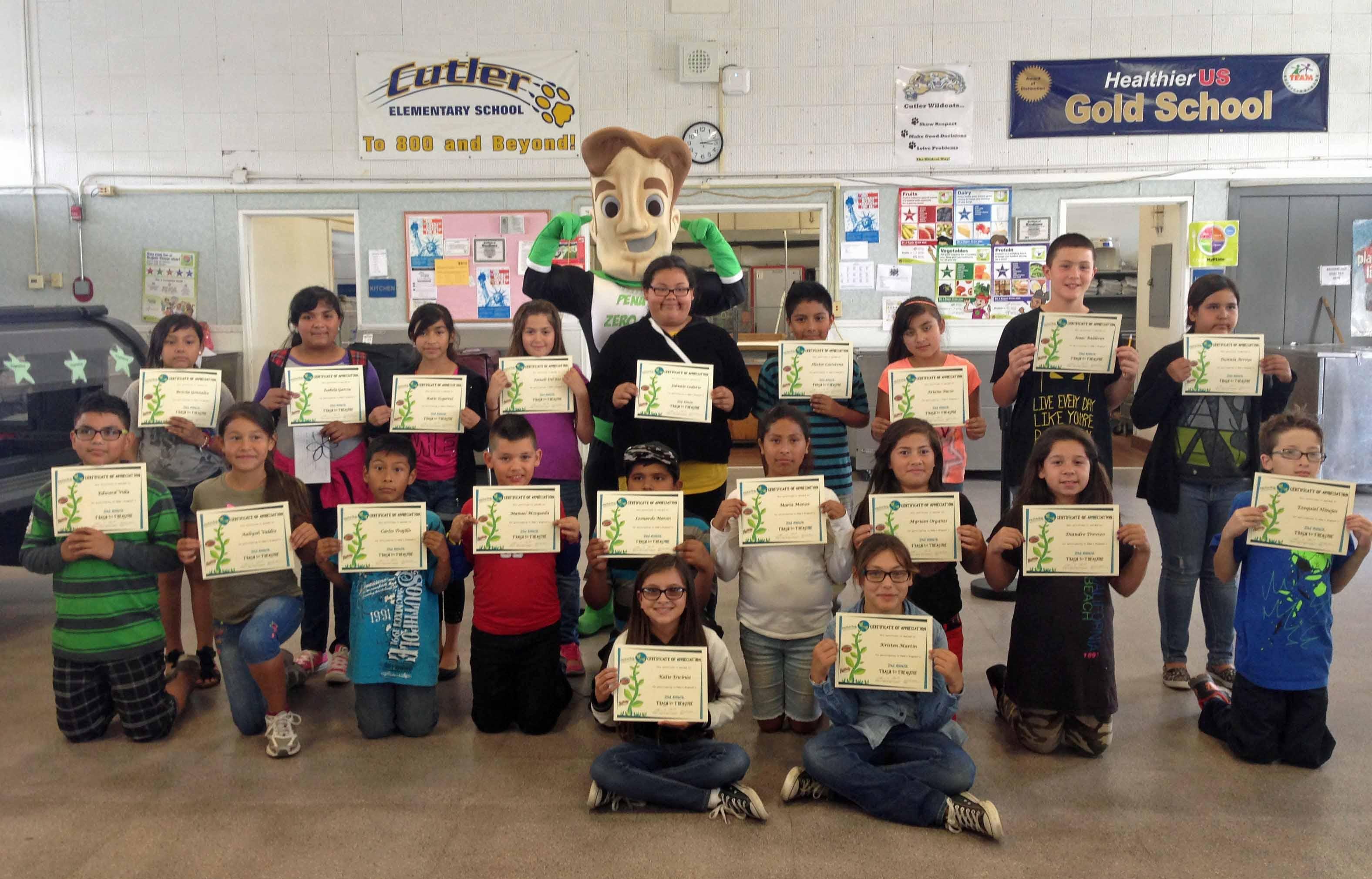Cutler Elementary 5th Graders