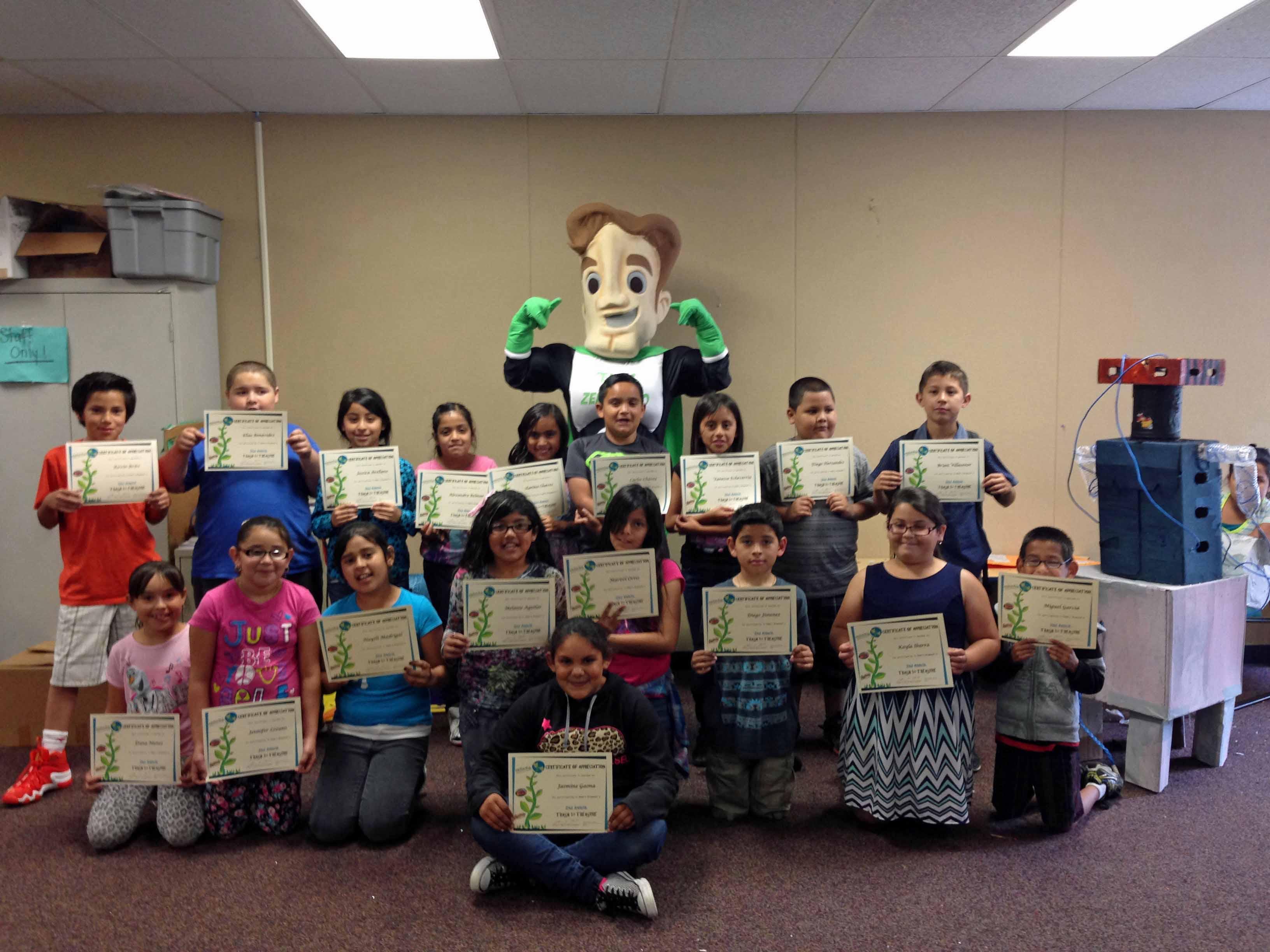 Palm School 4th Graders