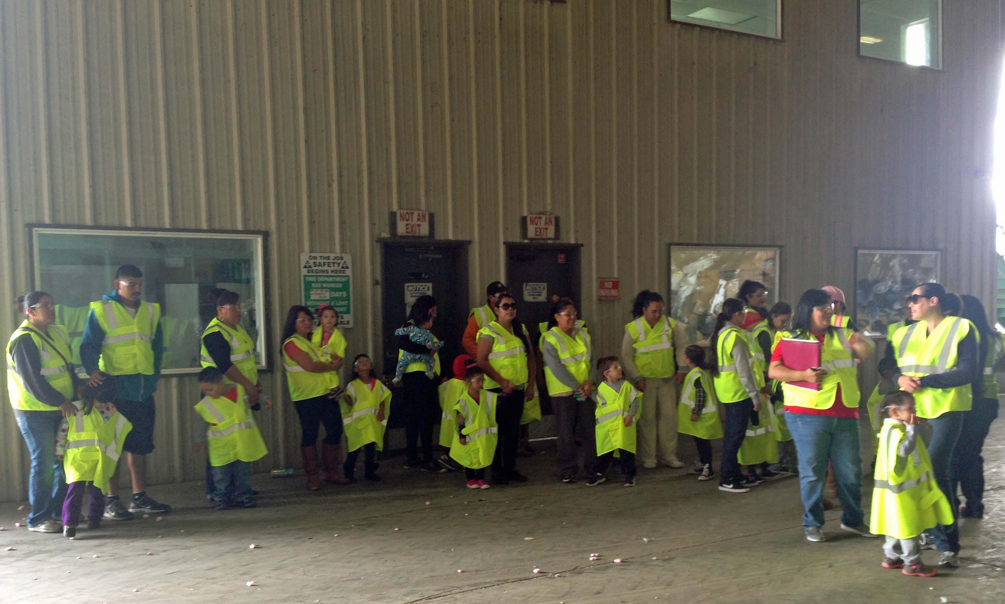 Orosi Headstart Tour at Peña's Disposal
