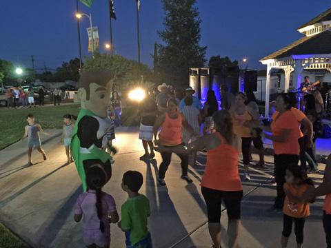 Dinuba Summer Night Lights 2015