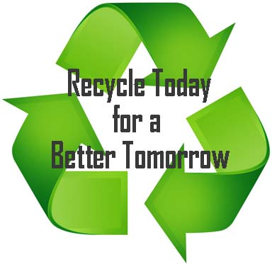 Recycle Today for a Better Tomorrow!