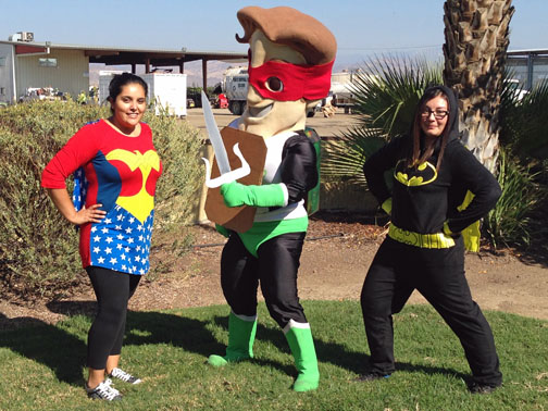 Halloween 2015 - Peña's Disposal Super Hero's