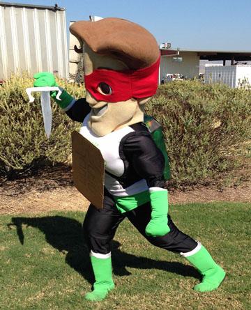 Halloween 2015 - Ninja Turtle Zero Hero