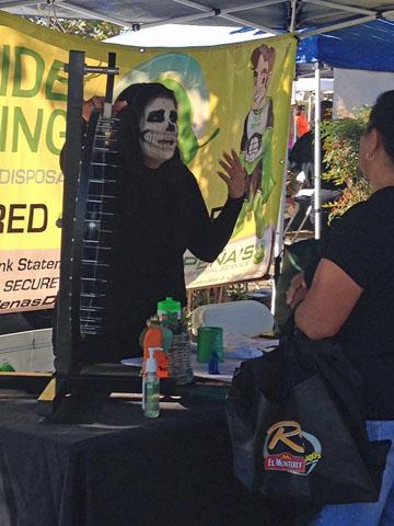 Peña's Disposal at Ruiz Foods Safety Fair 2015