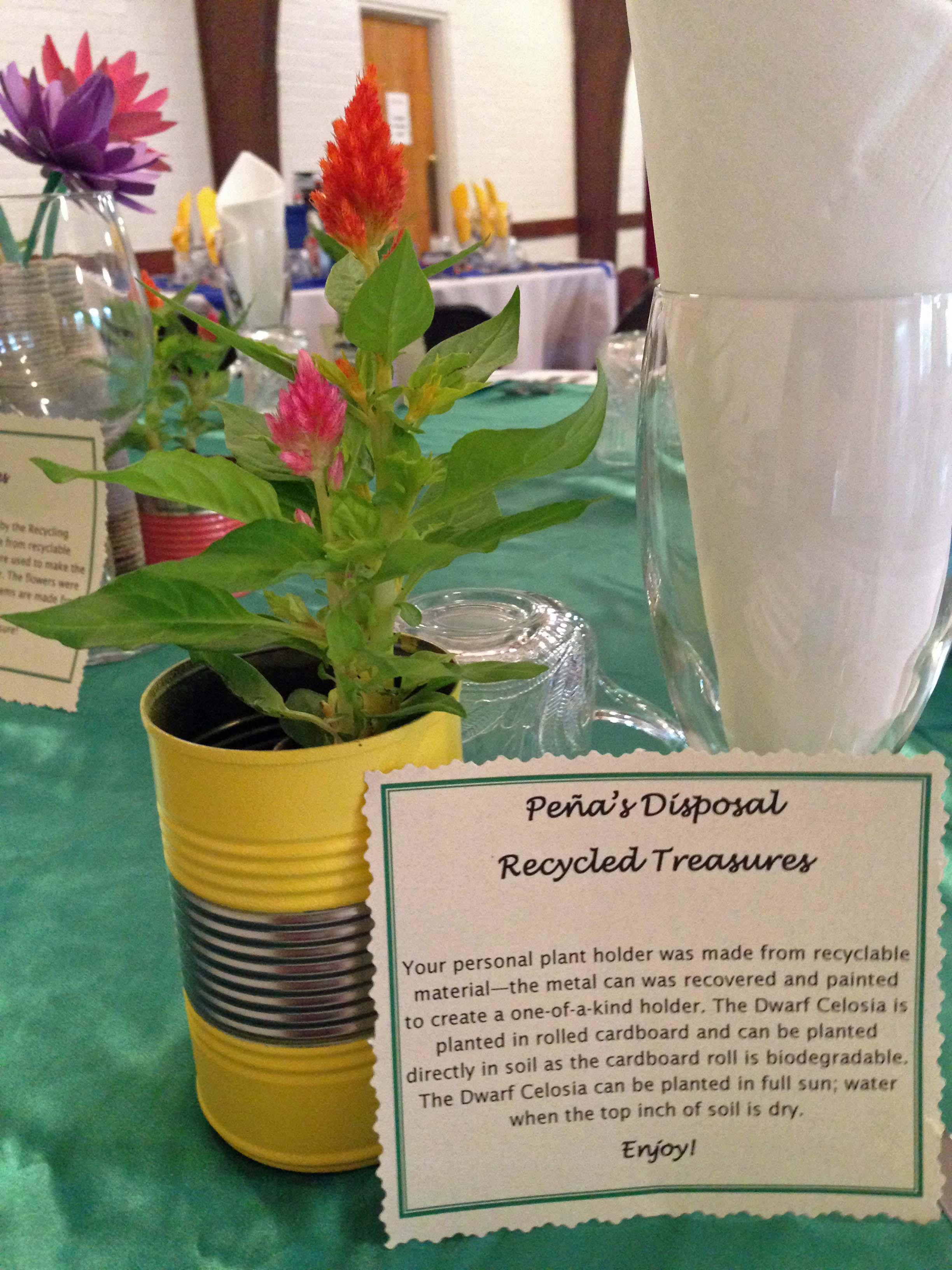 Peña's Disposal Recycling Treasures 2015