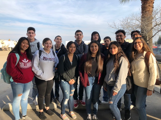 OHS 11th Graders 2019 Tour at Peña's Disposal