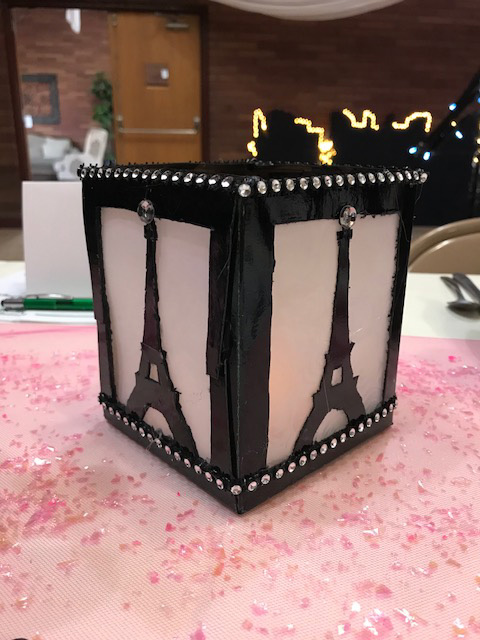 Kleenex Box Luminary 2019