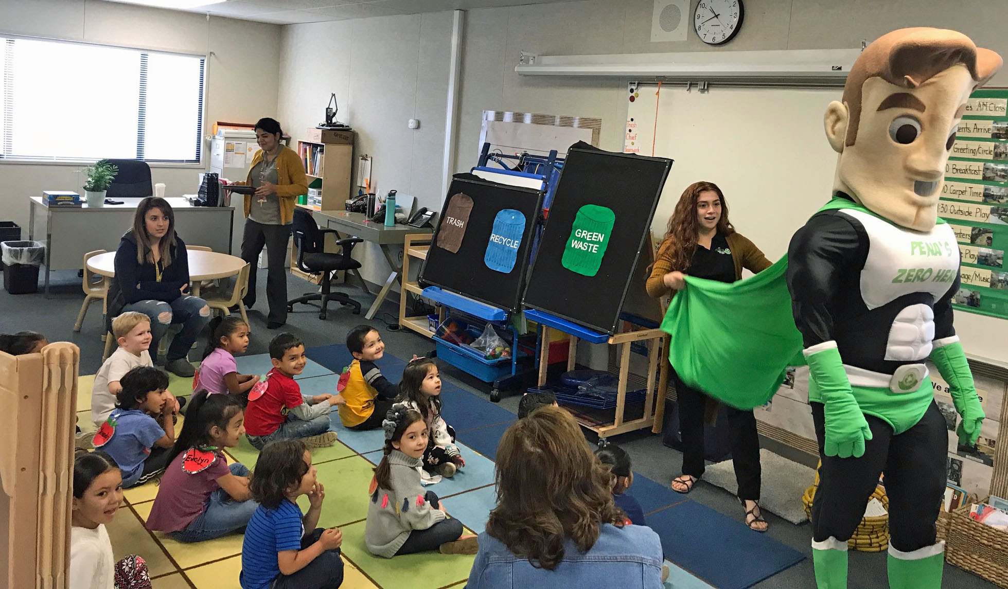 A L Conner Preschool Recycling Presentation November 2019