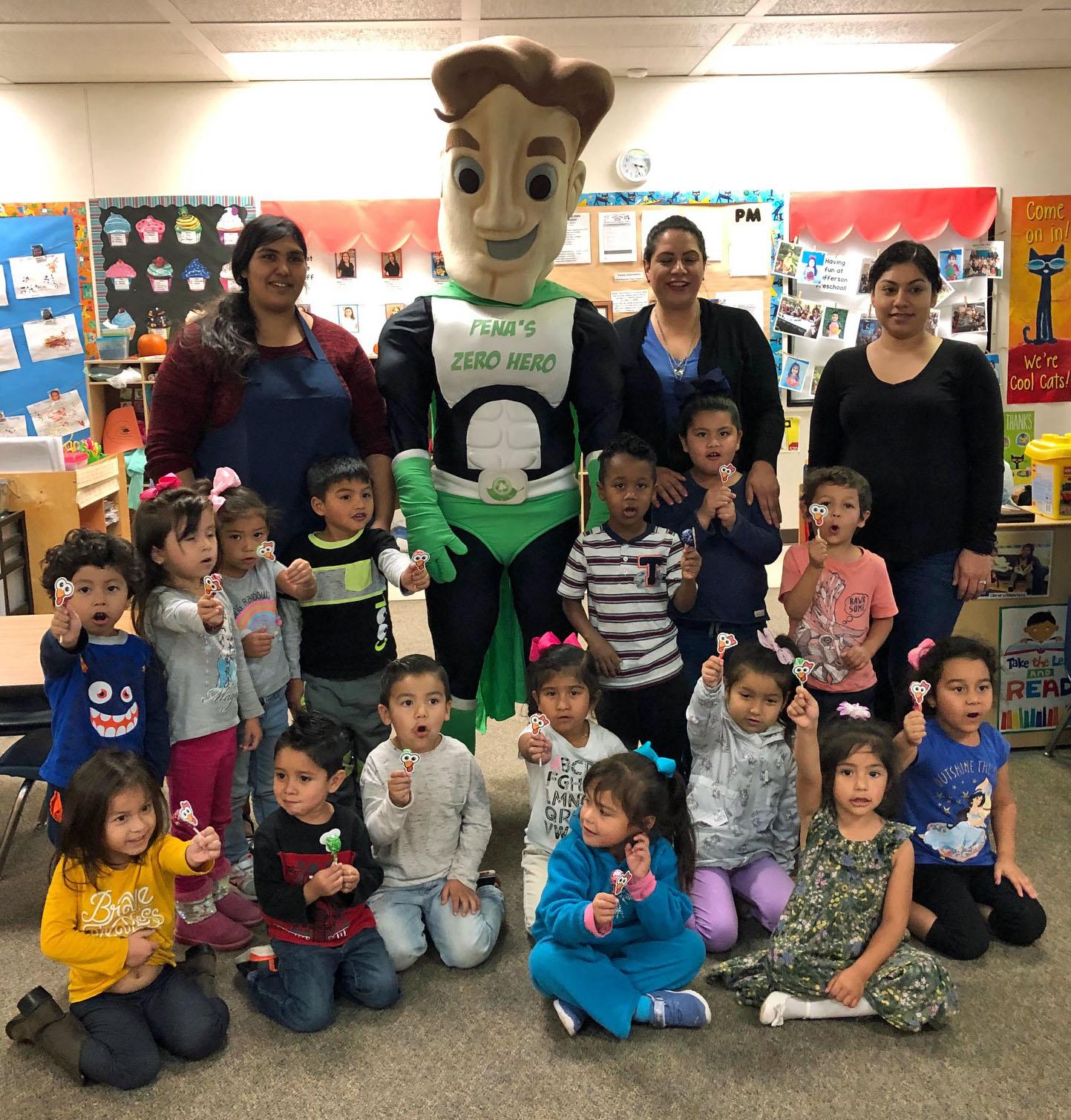 Jefferson Preschool Recycling Presentation November 2019