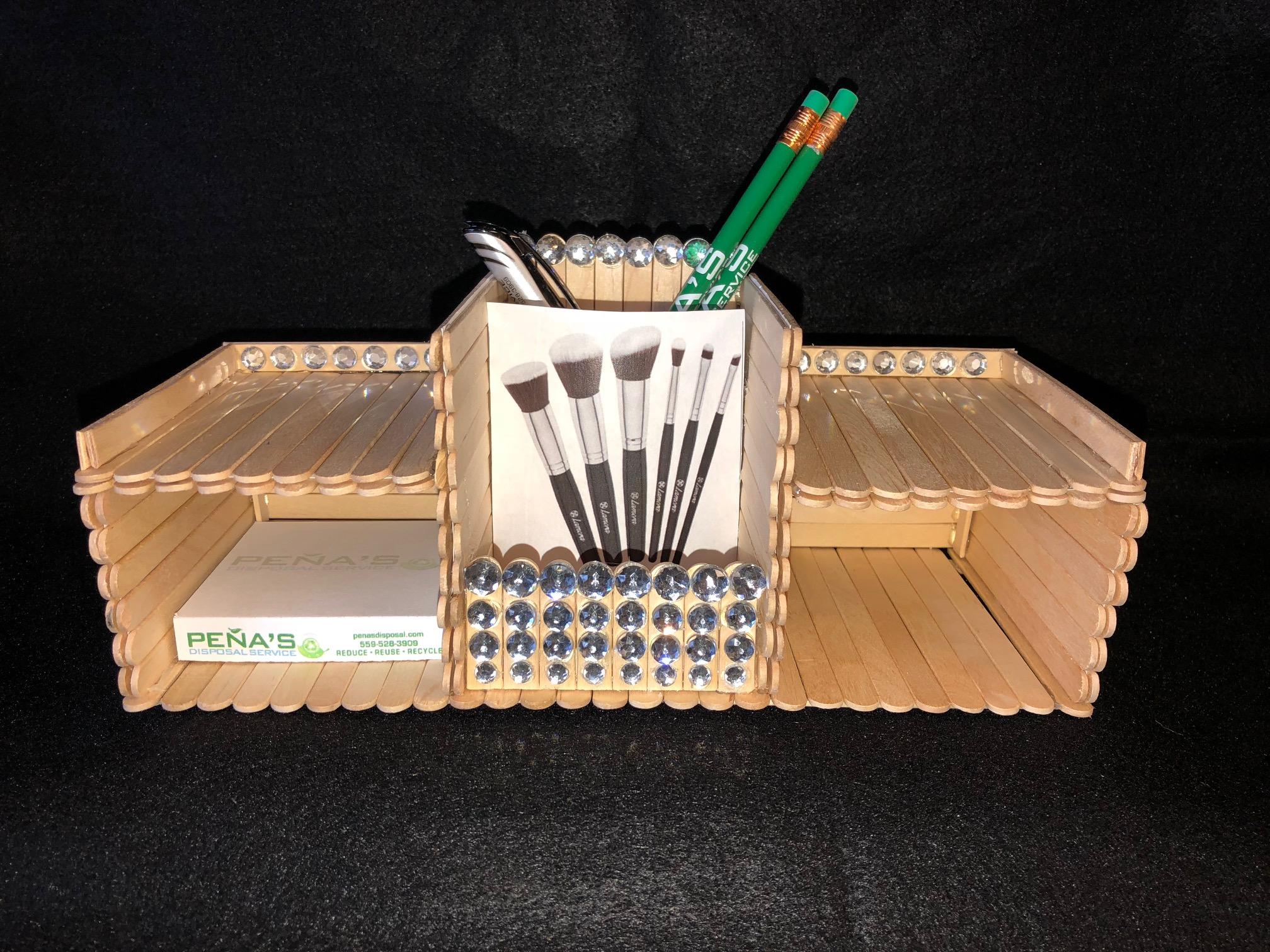Popsicle Stick Organizer 2020