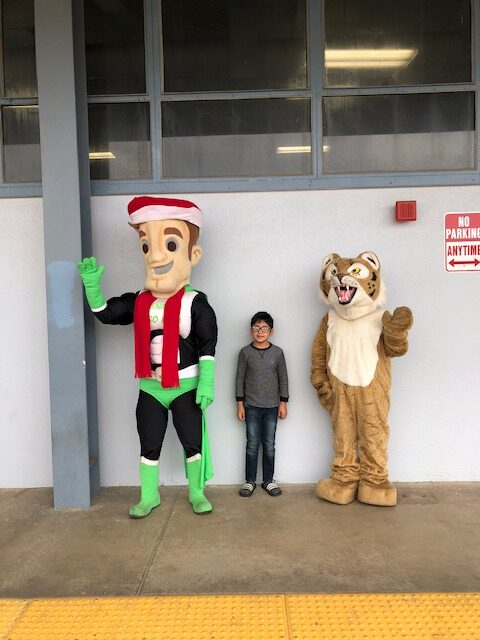 Cutler Elementary School Food drive 2020
